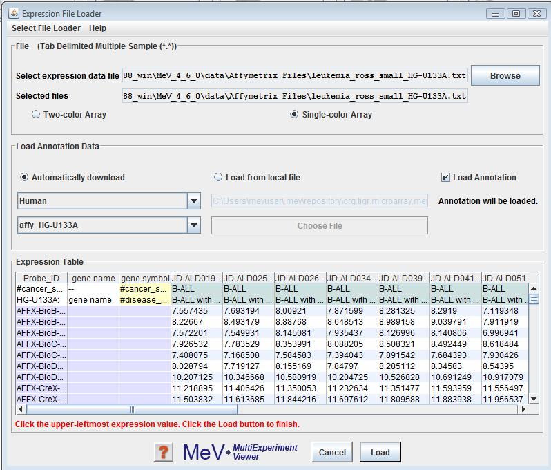 File Extensions Affymetrix Developer Network